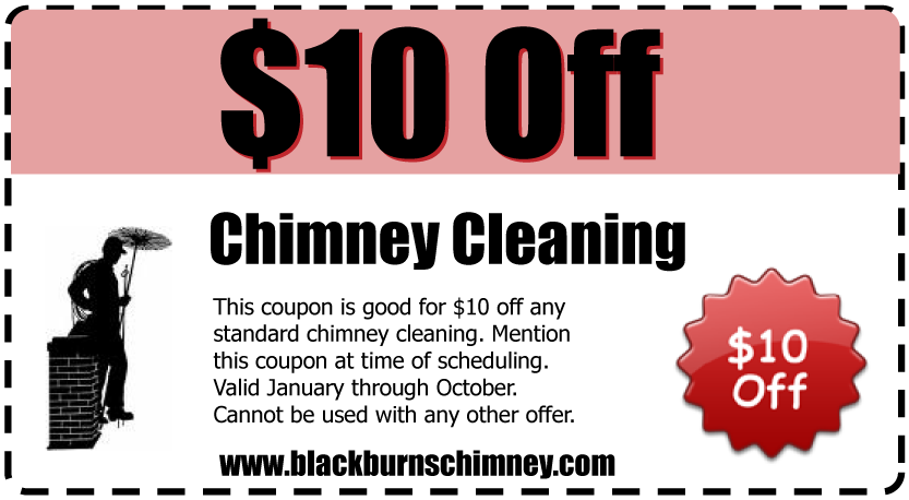 $10 off Chimney Cleaning