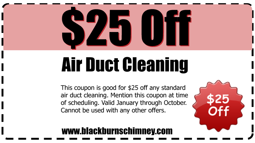 $25 off Air Duct Cleaning